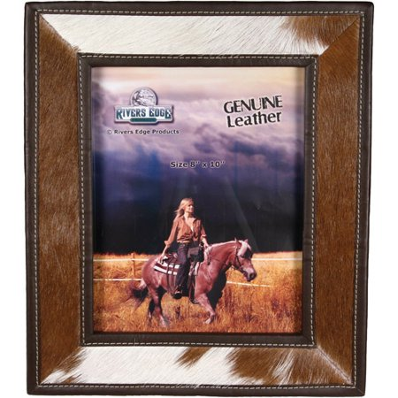 Rivers Edge Products 8 X 10 Cowhide Picture Frame Walmartcom