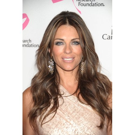 Elizabeth Hurley At Arrivals For Tickled Pink Hot Pink Party Benefit For The Breast Cancer Research Foundation Waldorf-Astoria Hotel New York Ny April 14 2011 Photo By Rob RichEverett Collection Celeb