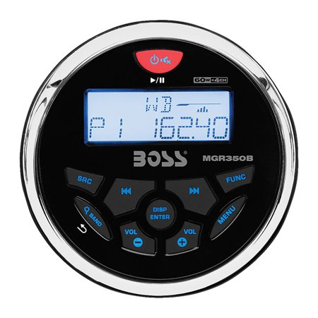 Boss Mgr350b Marine Flash Audio Player - 150 W Rms - Ipod/iphone Compatible (Transfer Music From Ipod To Iphone 5)