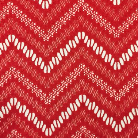 Crochet Lace Fabric (SHASON TEXTILE CROCHET CRAFTERS CHOICE FABRIC SOLID, RED, Available In Multiple Colors )