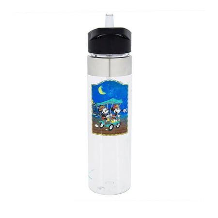 Disney Water Parks - Disney Parks Mickey and Minnie Boardwalk Water Bottle New