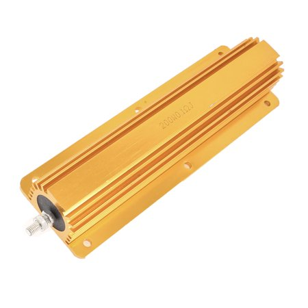 200W 0.1 Ohm 5% Chassis Mounted Screw Tabs Aluminum Resistor - image 1 of 1