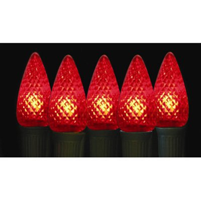 Brite Ideas 25 Bulb Red C9 LED Light Set ()