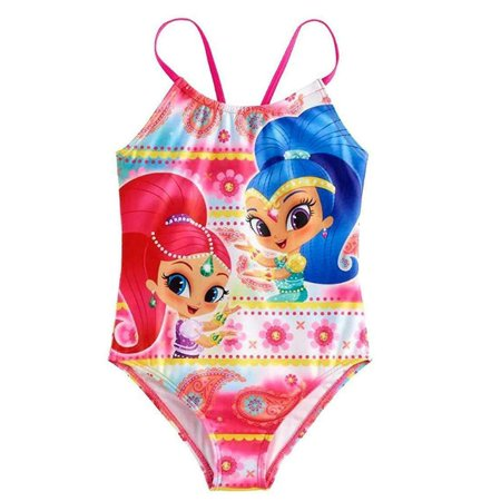 Shimmer And Shine One Piece Swimsuit Girl Size