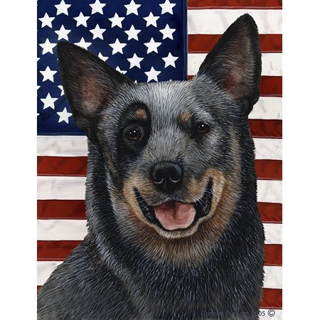 Australian Cattle Dog Blue - Best of Breed Patriotic II Large - Patriotic Dog