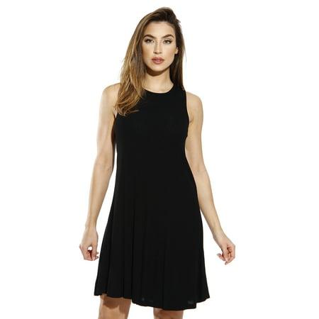 Just Love Sleeveless Trapeze Short Dress / Summer Dresses for Women