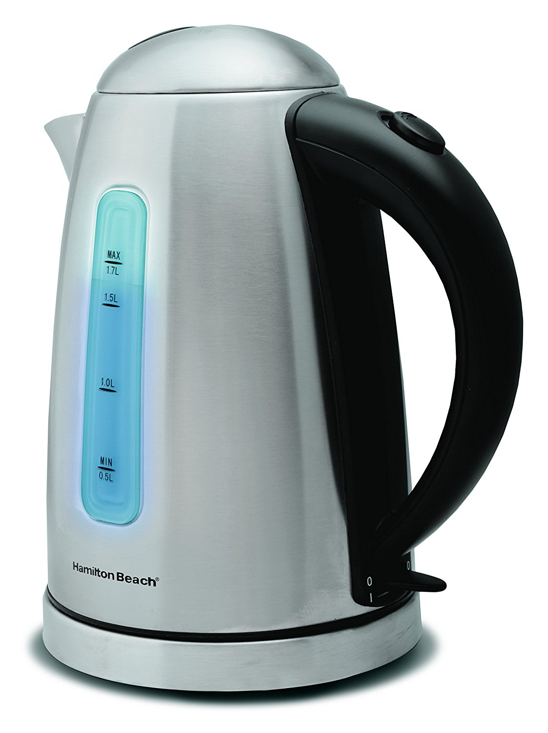 Hamilton Beach Electric Kettle 40993E 1.7-Liter Cord-Free Serving ...