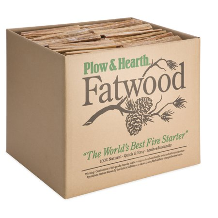 Easy-Start Fatwood Fire Starter, 50 lb. Box of Fatwood ()