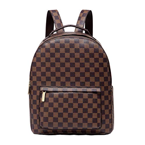 Daisy Rose Checkered Backpack Bag