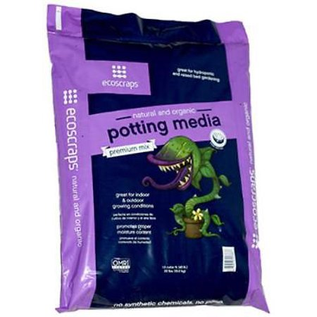 1.5 CUFT Premium Potting Media Mix Blend Of Ecoscraps Compost & High L Only One
