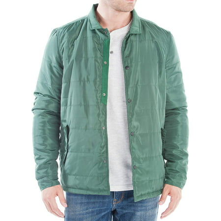 No Retreat Men's Button Snap Jacket