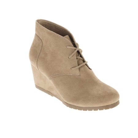 f06c2b639041 FADED GLORY - Women s Wedge Bootie - Walmart.com