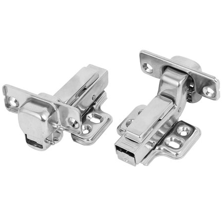 Uxcell Face Frame Concealed Self Closing Full Overlay Wardrobe Cabinet Hinges