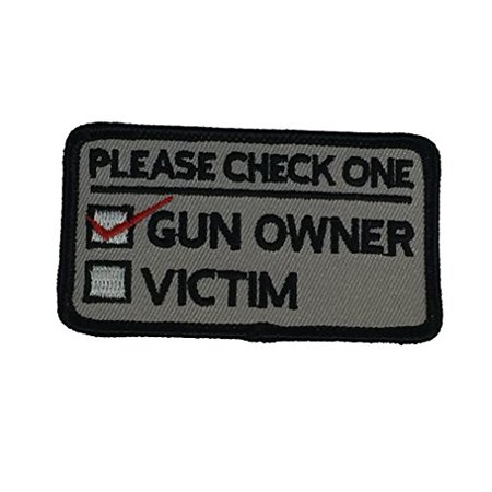 - PLEASE CHECK ONE: GUN OWNER OR VICTIM PATCH - Color - Veteran Owned Business