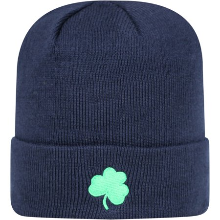 Men's Russell Navy Notre Dame Fighting Irish Team Cuffed Knit Hat - OSFA