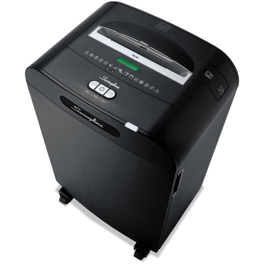 Swingline DX18-13 Medium-Duty Cross-Cut Shredder, 18-Sheet Capacity