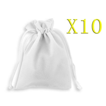 Velvet Jewellery Drawstring Gift Bag Pouches 10pcs Jewelry Bags 9x12cm