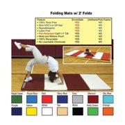 Folding Mat w/ 2' Folds - 4' x 8' x 1. 5''