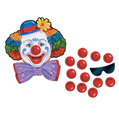 Beistle - 66669 - Circus Clown Game - Pack of 24