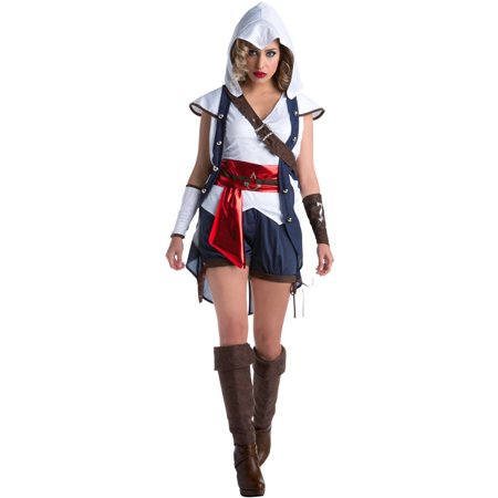 Assassin's Creed: Connor Female Women's Adult Halloween (Assassin's Creed 3 Connor Costume)