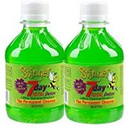 2 Bottles Stinger 7 Day Total Detox Perma Caps - 2/6 Panel Drug Tests include...