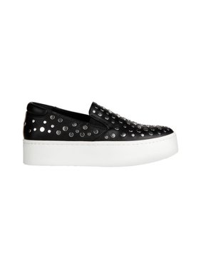 Womens Kenneth Cole New York Jeyda Platform Fashion Sneakers, Black