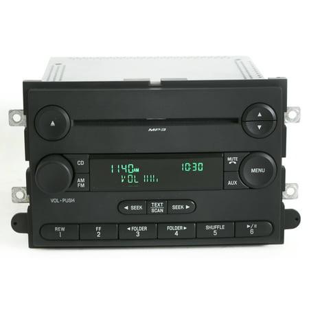 Ford Pickup Radio - Ford F-150 Pickup 2007-2008 Radio - AM FM mp3 CD Player - Part 7L3T-18C869-BK - Refurbished