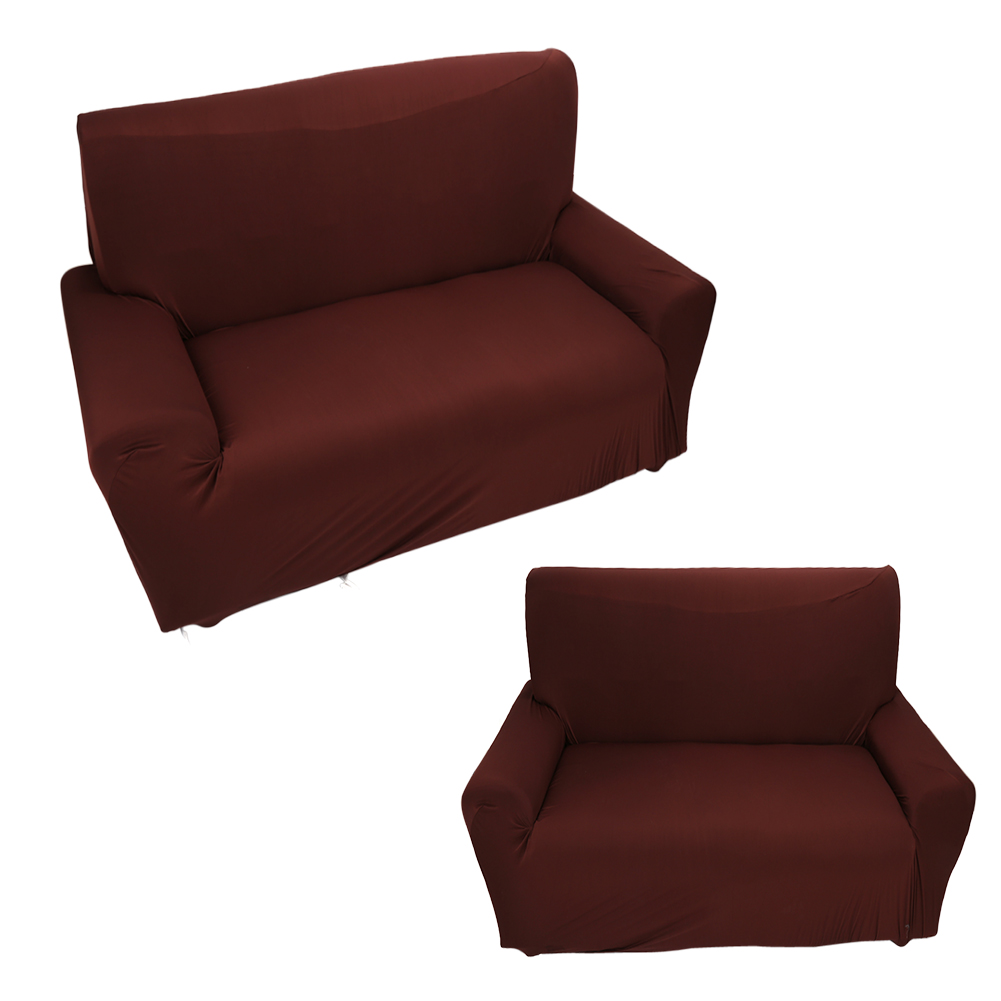 "Sofa Covers, 1-Piece Polyester Spandex Fabric Stretch Slipcover For Chair Loveseat Sofa and Couch - Suitable Sofa: 235cm-300cm / 93""-118"""
