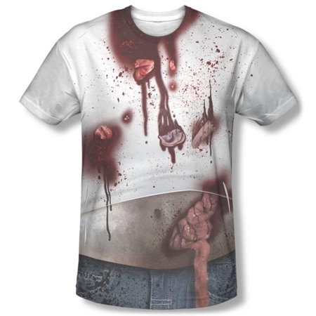 Zombie Slob Costume Tee Apparel Sublimated - Sublimation - Zombie Clothing Line