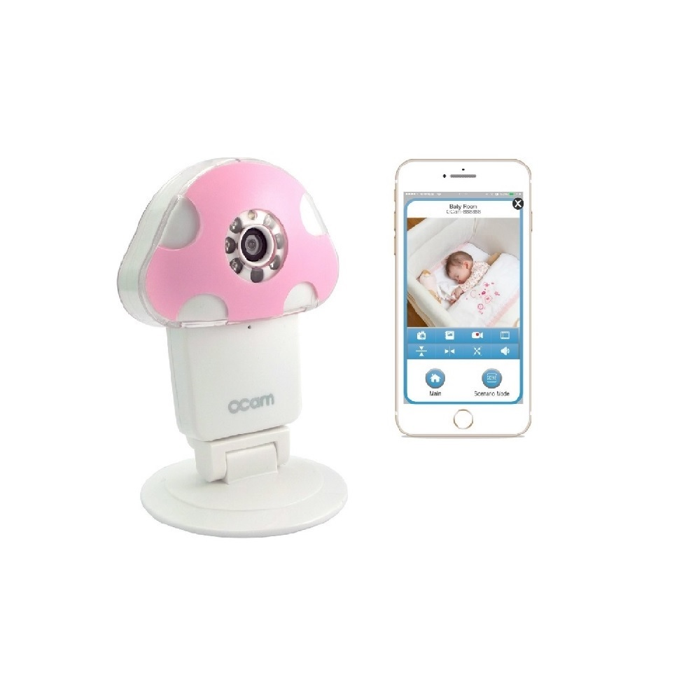 SecuEyes OCAM-M1P Wifi HD 720P Baby Monitor Security Video Camera & Nanny...