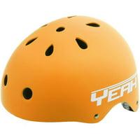 Ventura Yeah! Matte Orange Freestyle Helmet M (54-58 cm)