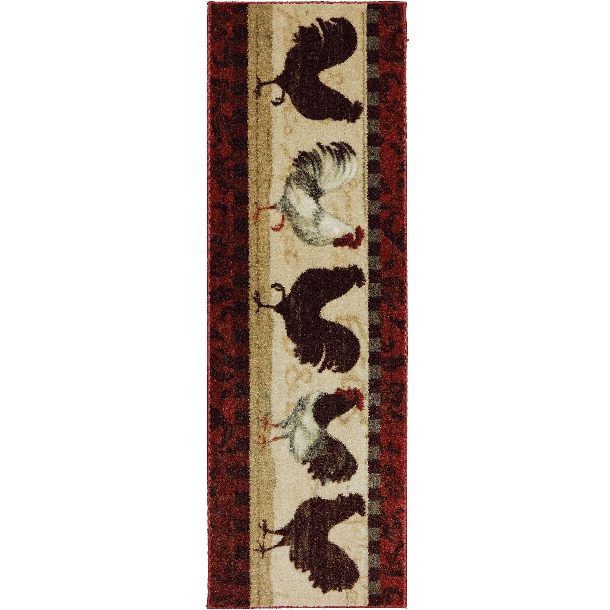 Mohawk Home Country Touch Kitchen Rug, Multi-Color