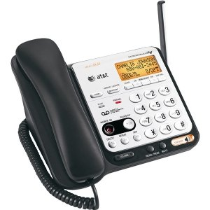 Dect 6.0 Digital Corded/Cordless Answering System