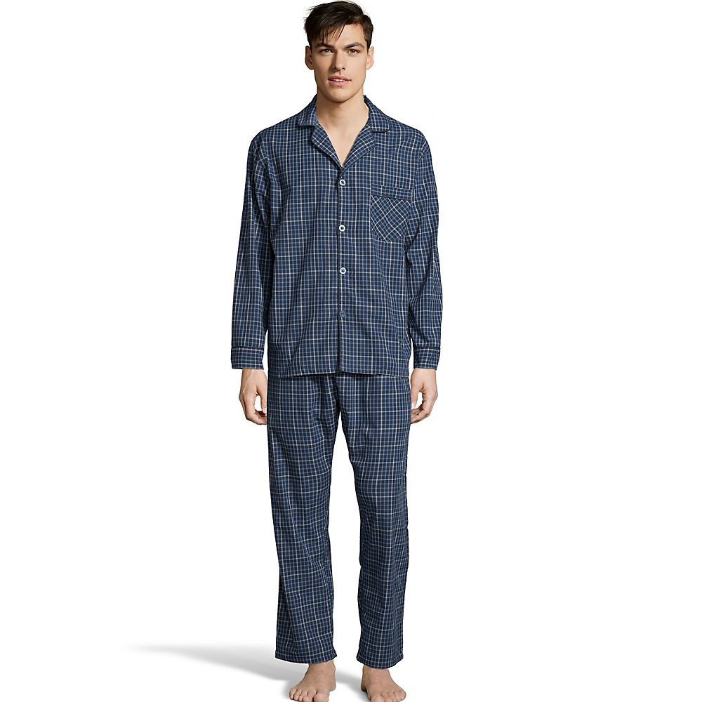 Hanes Men`s Woven Pajamas