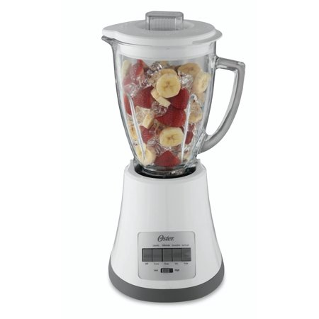 Oster BLSTMG-WOO White 220 Volt Blender with Glass Jar (WILL NOT WORK IN USA) ()