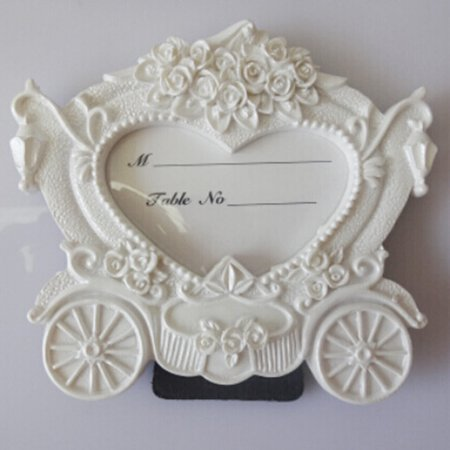 Joyfeel Clearance Pumpkin Cart Photo Frame Wedding Baby Kids Picture Frame Name Memo Card - Name Pumpkin