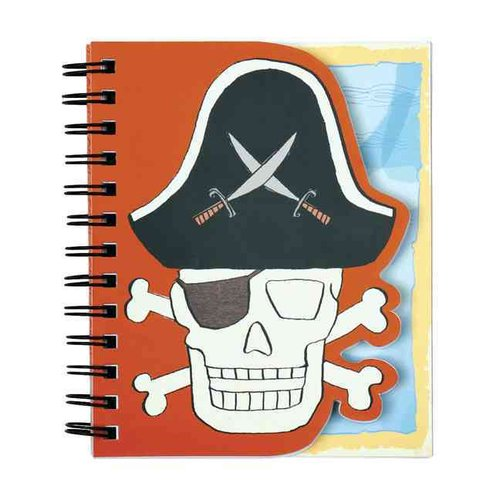 Skull & Crossbones Layered Journal