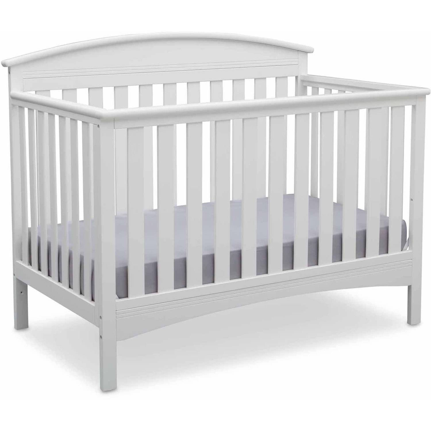 Delta Children Abby 4-in-1 Convertible Crib, (Choose Your Finish)