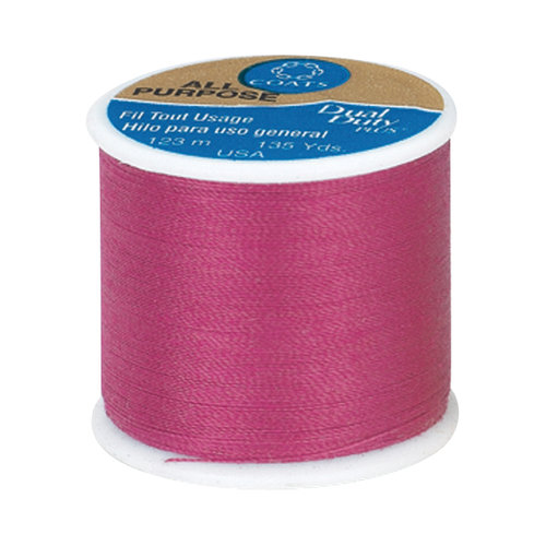 Coats & Clark All Purpose Thread, 135 yds, Magenta