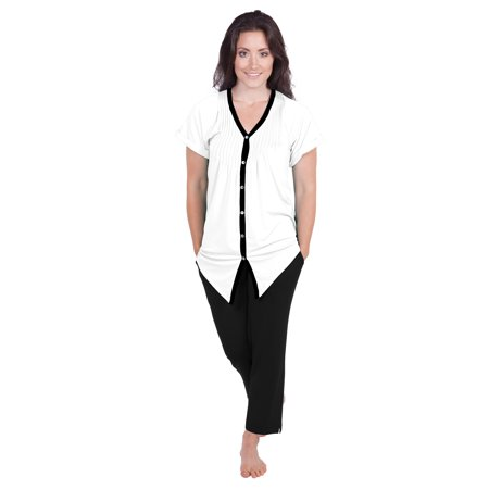 Texeresilk - Texere Women s Pajama Set Sleepwear - Luxury Nightwear for Her  WB0002 - Walmart.com a1d315892