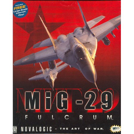 MiG-29 Fulcrum Shrouded in secrecy behind the Iron Curtain...UNTIL NOW (Classic Sim PC Game) Air Combat Flight