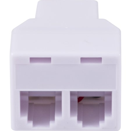 - Onn Telephone In-Line Coupler, White