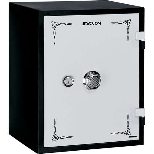 Stack-On Fire Resistant Personal Safe with Combination Lock