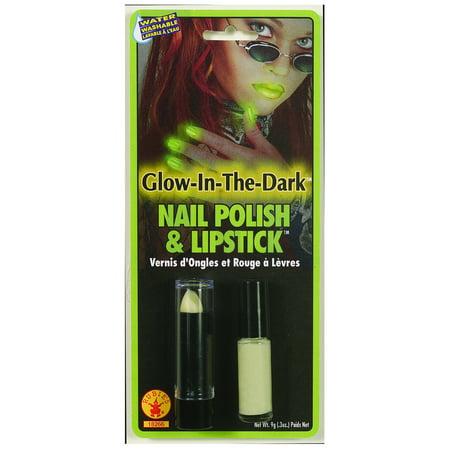 Glow Nail Polish And Lipstick Rubies 18266