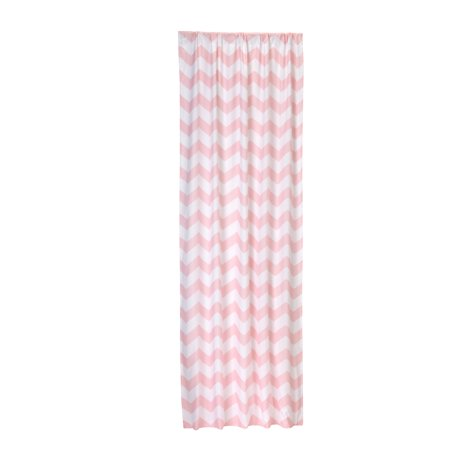 Little Bedding Window Panel , Pink Chevron, 1.0 CT for $<!---->