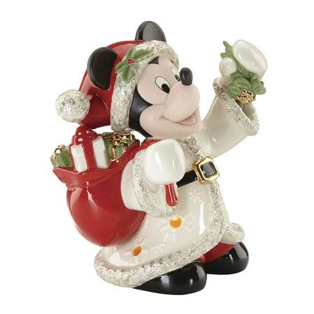 - Lenox Disney 853571 Merry Mickey Light Up Figurine