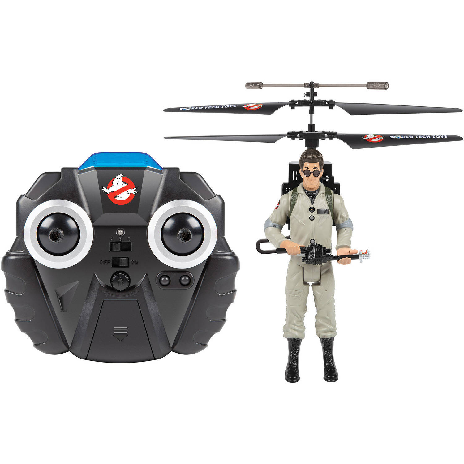 2-Channel Egon Ghostbusters IR Gyro Helicopter by World Tech Toys