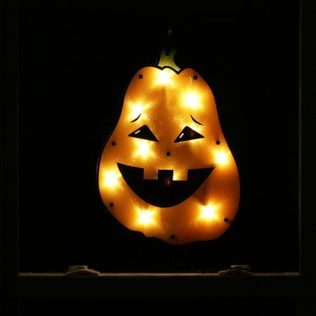 17 lighted tall jack o lantern pumpkin halloween window silhouette decoration - Halloween Window