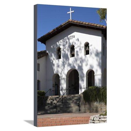 Old Mission San Luis Obispo De Tolosa Stretched Canvas Print Wall Art By