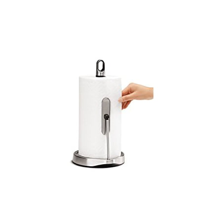Simplehuman Tension Arm Paper Towel Holder Stainless Steel Walmartcom